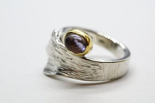 Riga ring amethyst artistic design jewelry schmuck agathos nafplio greece camaraworkshop.com