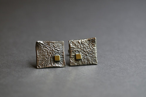 Maias cuff links artistic design jewelry schmuck agathos nafplio greece camaraworkshop.com