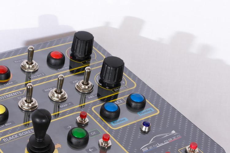 Simlogic Racebox buttonbox simracing
