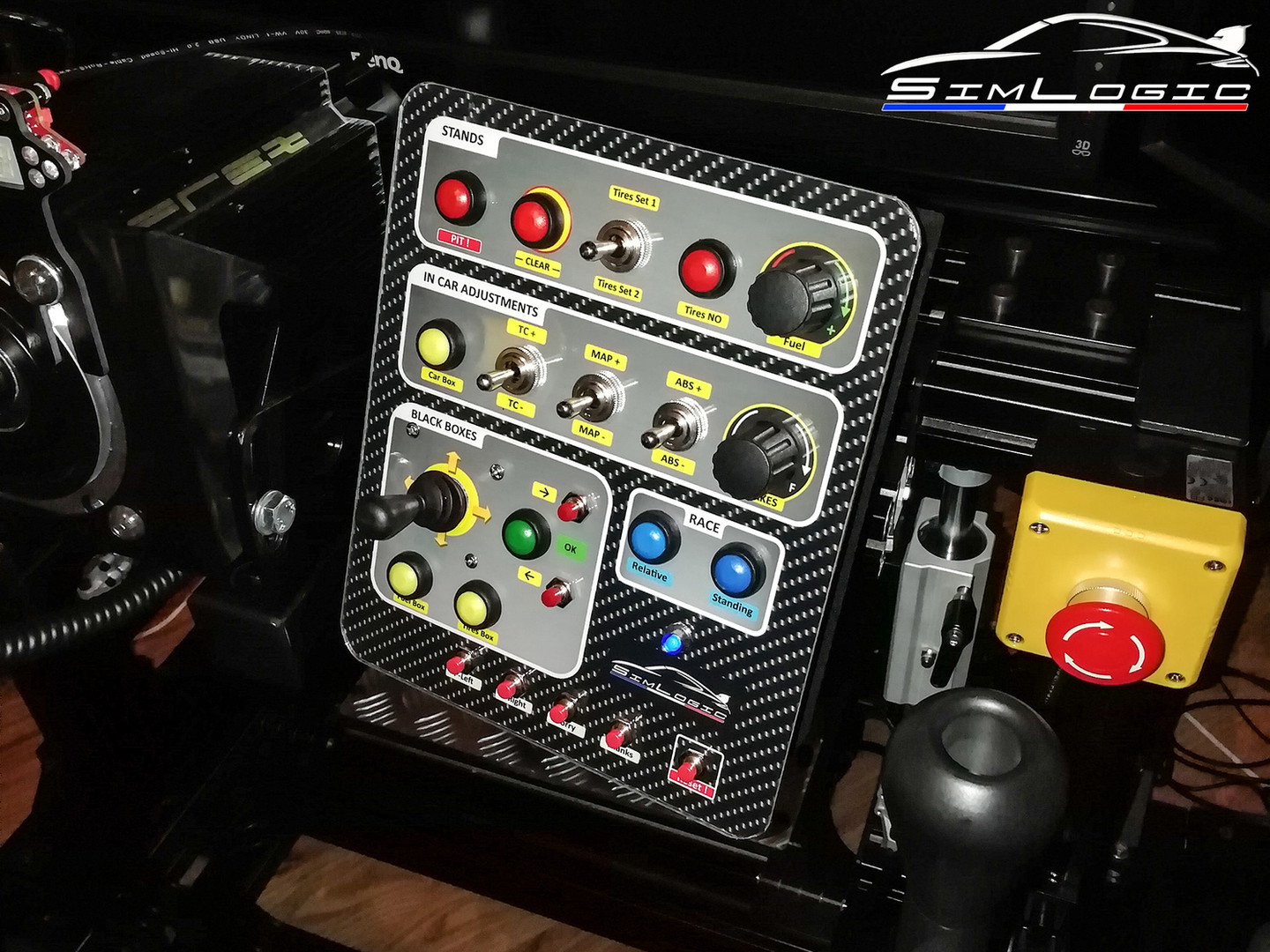 Simlogic Racebox buttonbox simracing