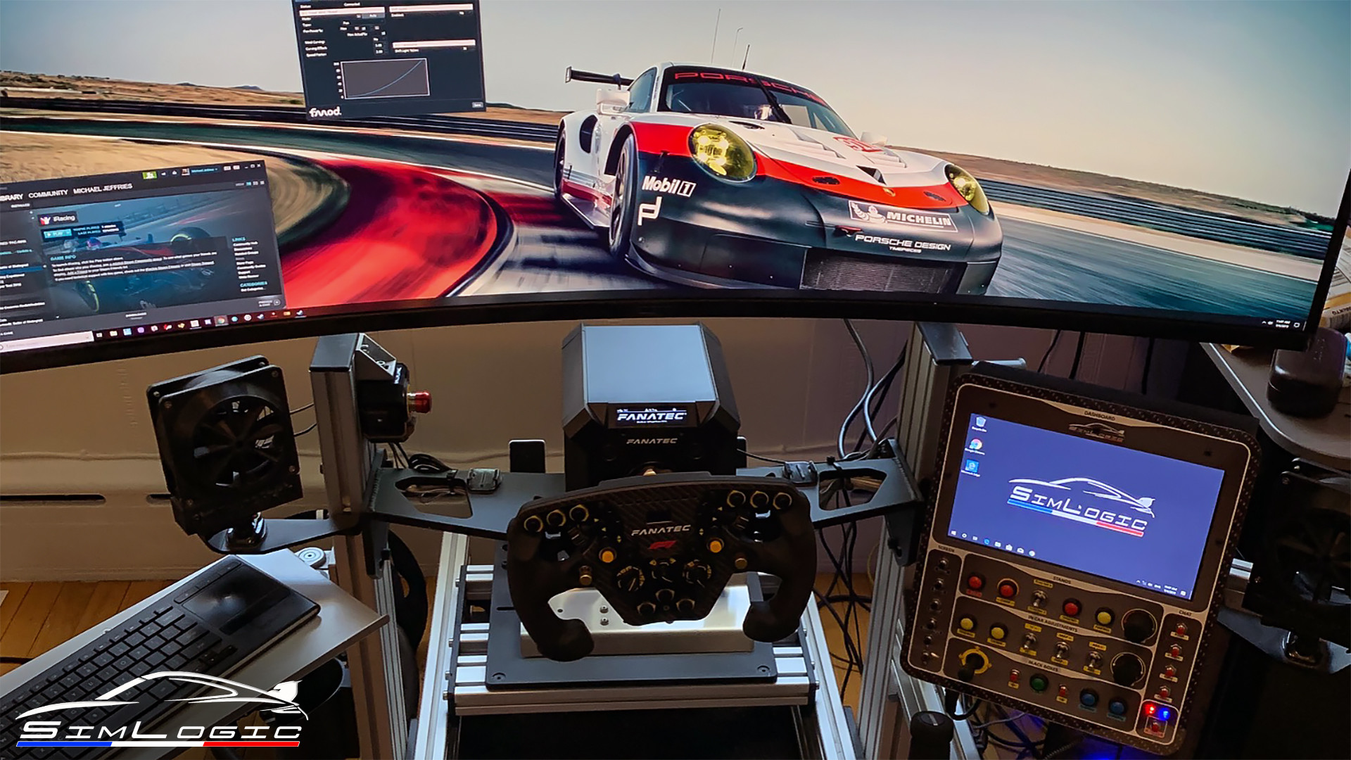 Simlogic RaceCenter MAX buttonbox simracing