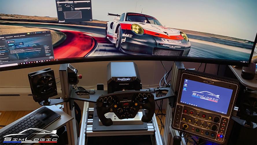 Simlogic RaceCenter MAX buttonbox simracing