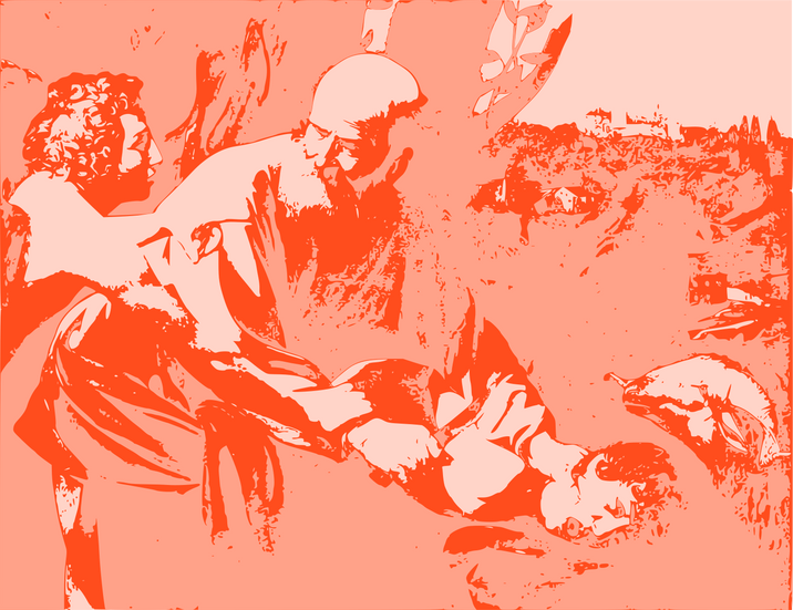 Abraham and Iisac