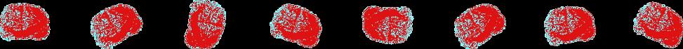 Red Decorative Brains