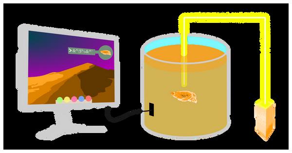brain in a jar cartoon