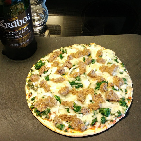 Haggis Pizza!