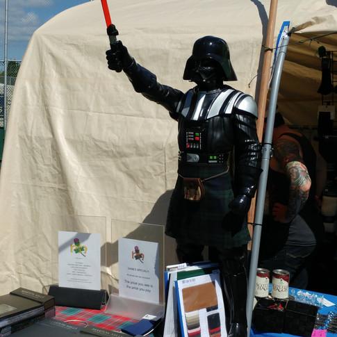Darth Vader is Scottish!