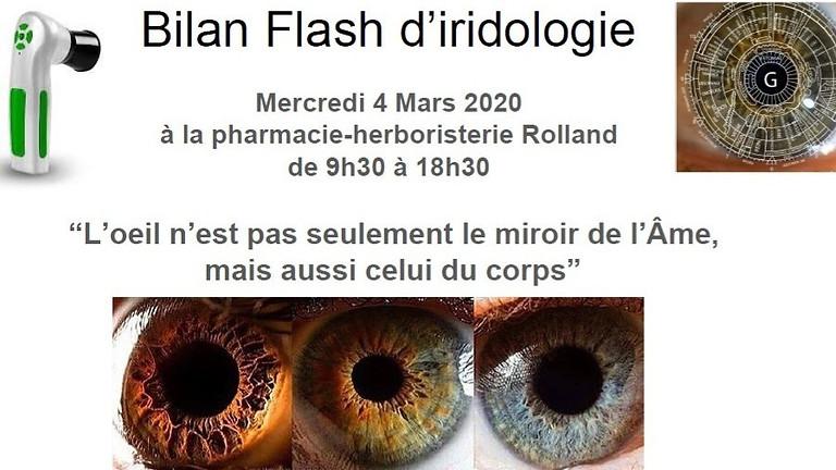 Bilan Flash d'Iridologie