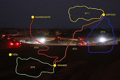 parcours,2019,sin fronteras challenge,www.rallyeraidpassion.com