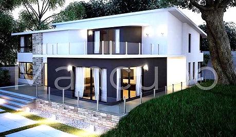 maison,préfabriqué,luxe
