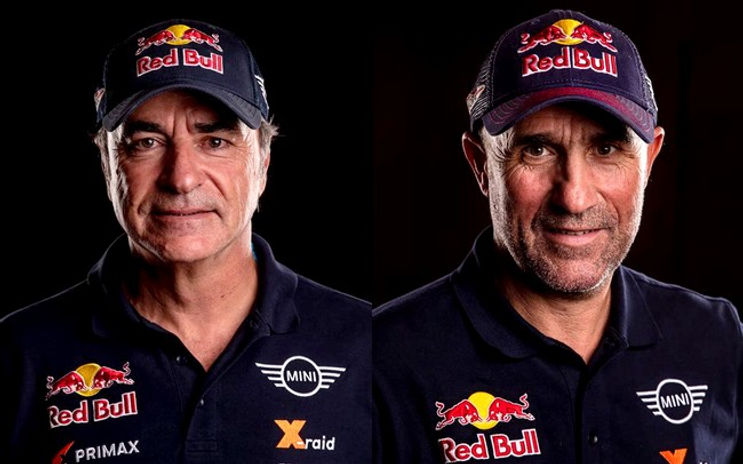 Carlos Sainz,Stephane Peterhansel,rallyeraidpassion.com