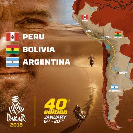 Carte Dakar 2018 www.rallyeraidpassion.com