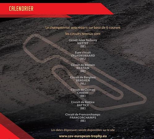 Calendrier,ssv european trophy,www.rallyeraidpassion.com