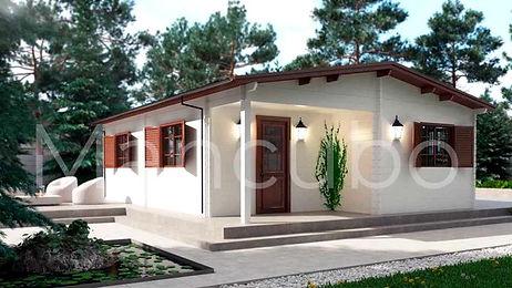 maison,ecologique,bois,photovoltaique