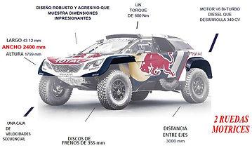 dossier technique,chassis,peugeot 3008 dkr,www.rallyeraidpassion.com