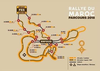 parcours,ralye du maroc,www.rallyeraidpassion.com