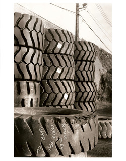 Walls of Tires