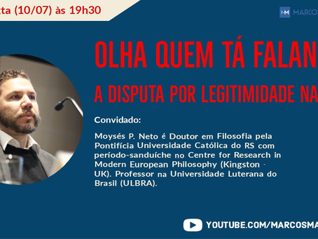 Olha quem tá falando: a disputa por legitimidade na web - Com Moysés Pinto Neto