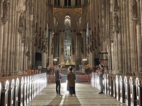 Videodreh im Kölner Dom