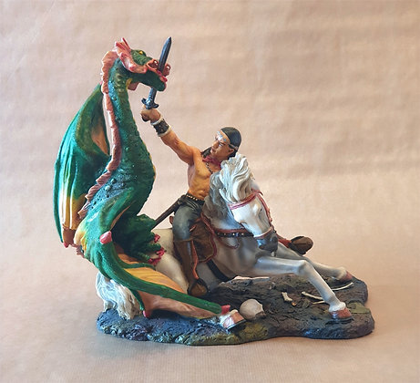 Dragon et Guerrier Indien de MYTHS & LEGENDS