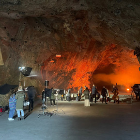 Videodreh in der Basler Höhle