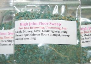 High John Floor Sweep (Chance, Amour et Protection)