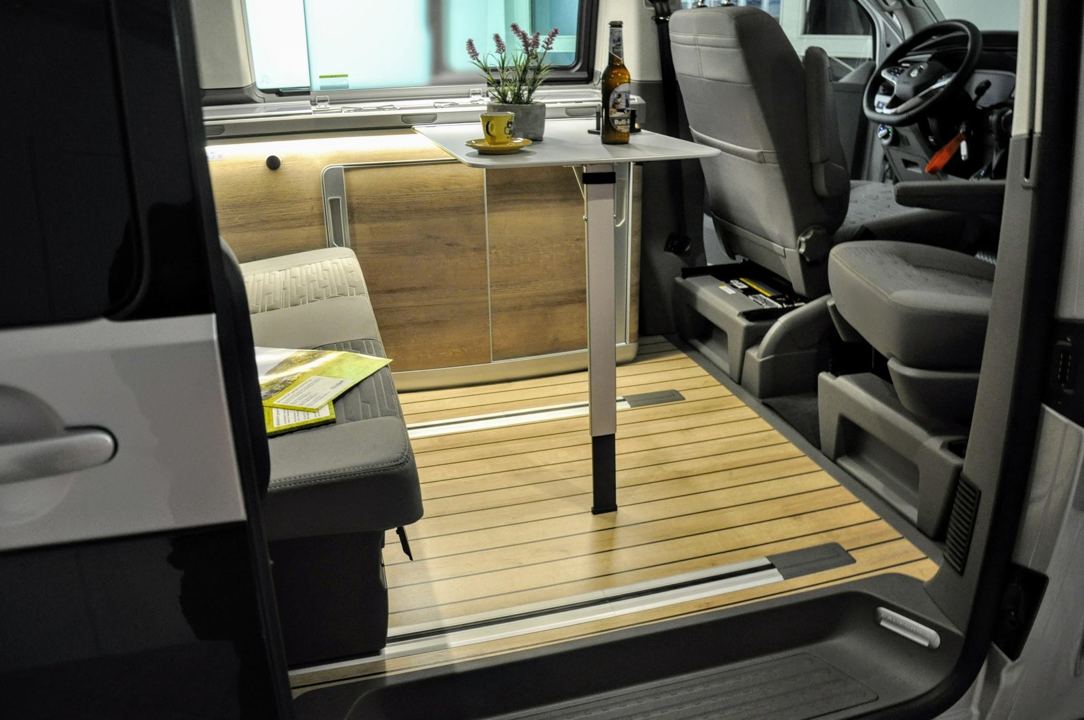VW T6.1 California garage mobilhotz ag