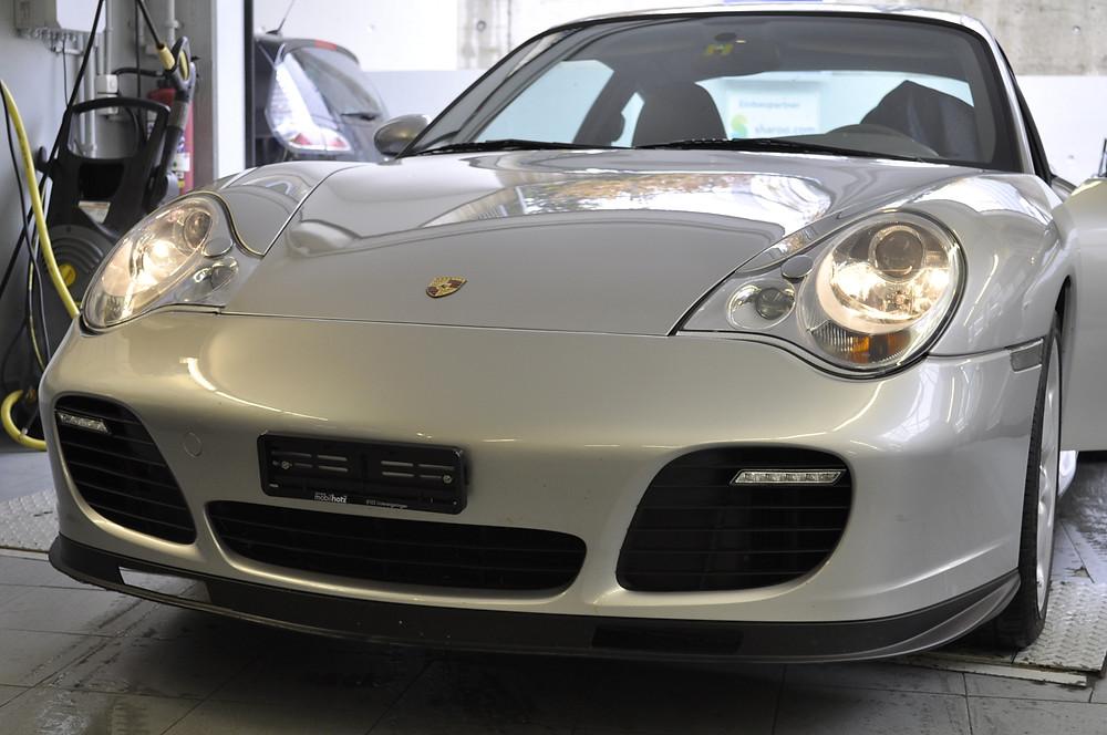Porsche 911 LED Tagfahrlicht nachrüsten