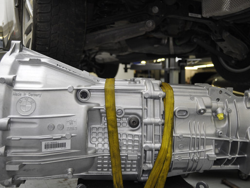 BMW 3er E90 Schaltgetriebe revidieren im Austausch, Austauschgetriebe für xDrive CHF 2500.-, GS6X45D