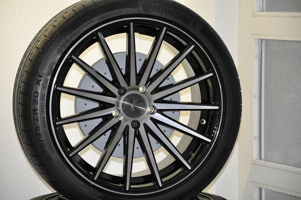 Gelochte Bremsscheiben VW T6