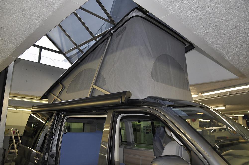 VW California Aufstelldach umrüsten