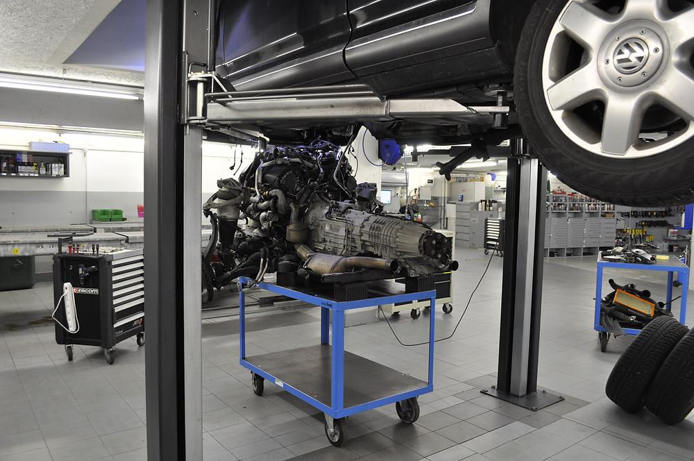 VW Touareg, Ölverlust