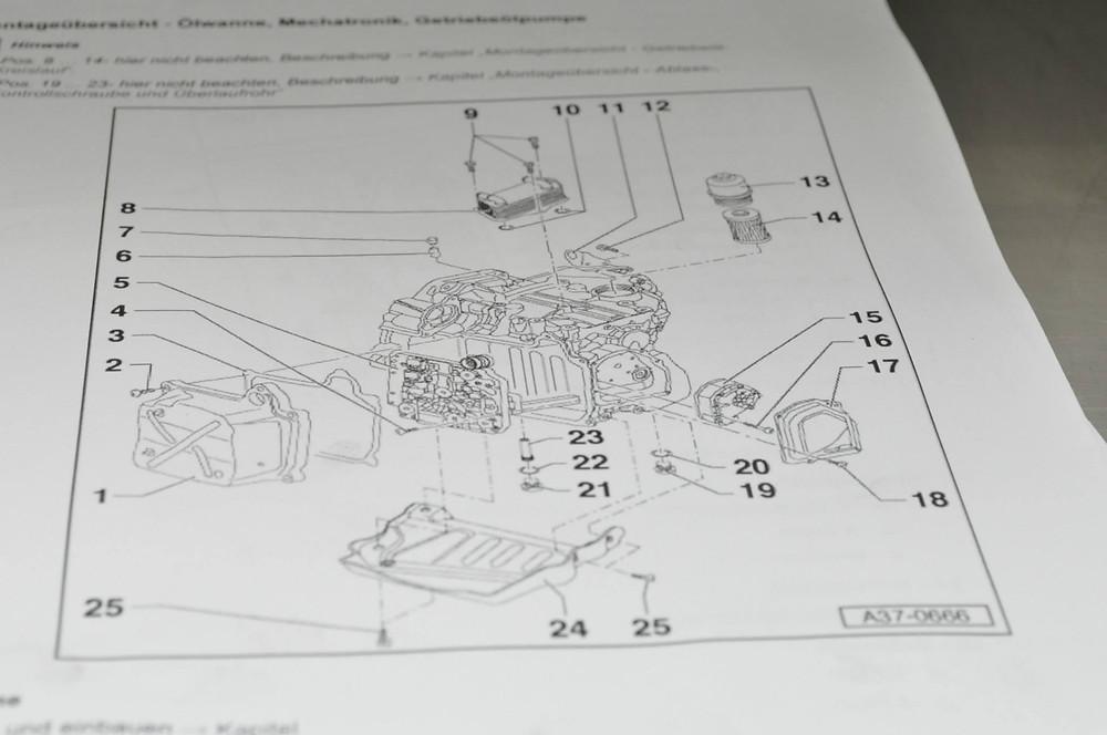 dsg getriebe reparatur