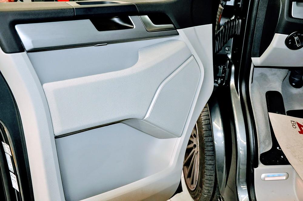 Soundsystem 8 Wege inkl. Frequenzweiche VW T6.1 California nachrüsten