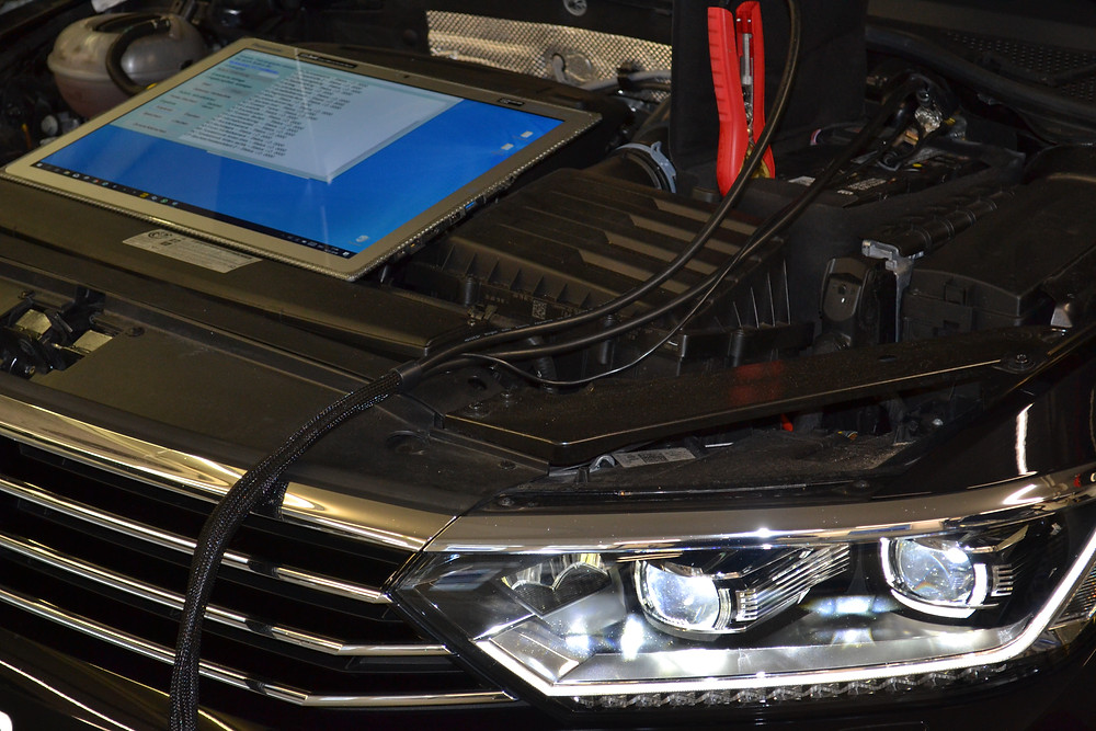 VW Passat B3 Video freischalten