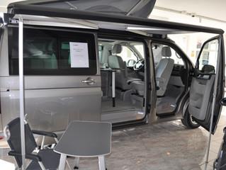 VW California Mietwagen besichtigung