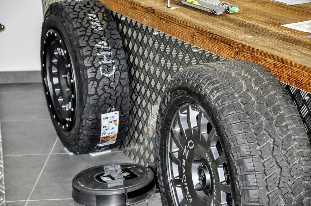 Offroad Alu Räder für den VW T6.1 California