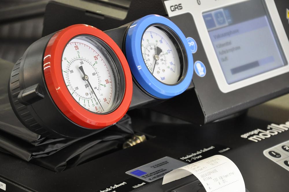 Auto-Klima-Service für R134a Klimaanlagen