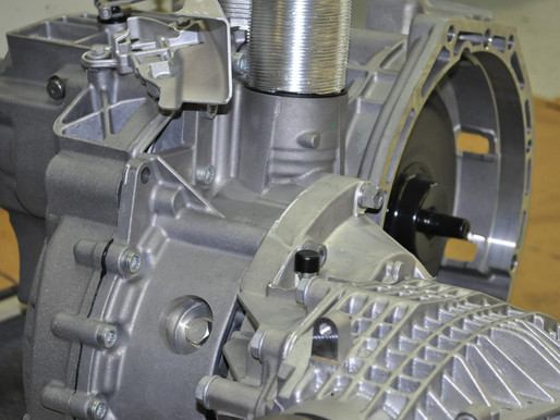 VW Golf R 4Motion, DSG Getriebe Revidieren, VW Golf R DSG Getriebe reparieren
