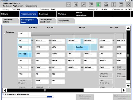 BMW Werkstester, BMW Diagnose, BMW Codierungen und Parametrisierungen