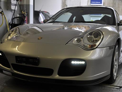 PORSCHE 911 Turbo S LED Tagfahrlicht nachrüsten