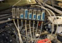 Diagnose an Dieselmotoren garage mobilho