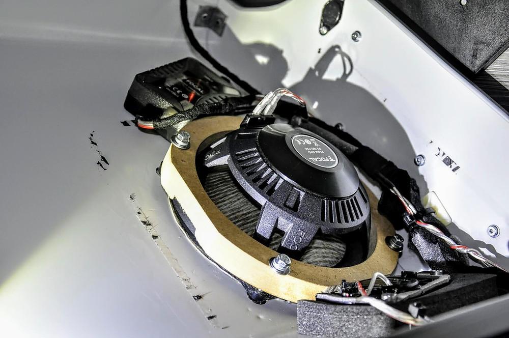 Perfekter Sound im VW T6.1 California wie beim Dynaudio nur besser