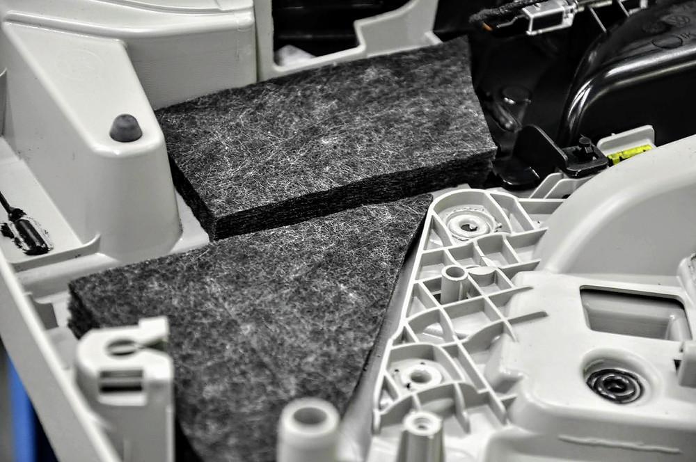 Isolation Schall und Temperatur für den VW T6.1 California