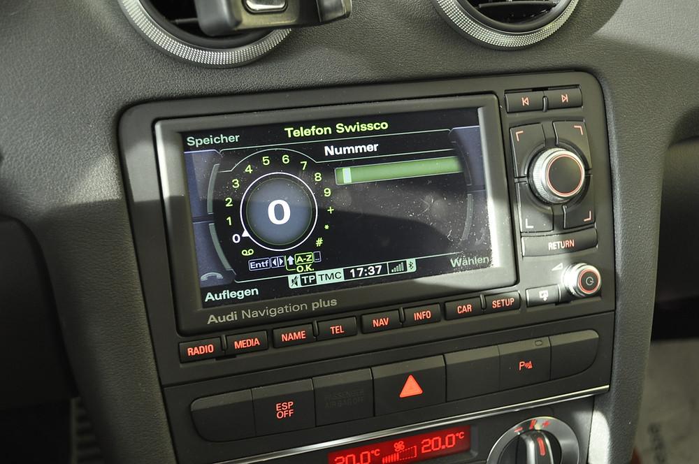 AUDI A3 8P Bluetooth