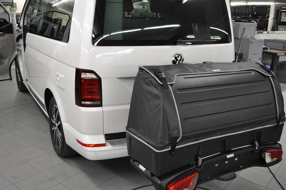 BOX für Fahrradträger VW T6