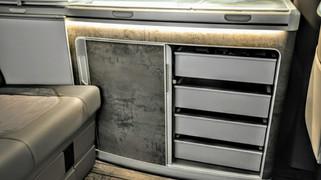 Neu Eingetroffen | Schubladen Erweiterung Küche | VW T6.1 California Ocean & Coast
