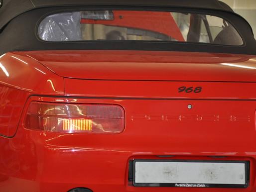 Porsche 968 1975 | Instandsetzung | Wartung | Zahnriemen erneuern | Zürich