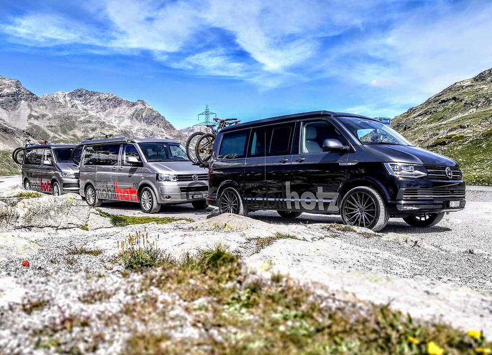 VW Camper Ferien mit einem California von der California Werkstatt