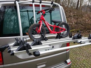 T6 Fahrradträger Original für die Heckklappe | Volkswagen Fahrradträger  CHF 690.- inkl. MwSt | Dire